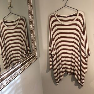 """Audrey 3+1   Striped """"Piko"""" Style Thermal"""